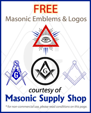 Free Masonic Emblems and Logos