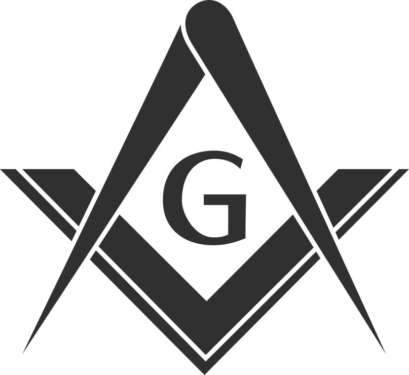 Free masonic emblems logos for Freemason vector